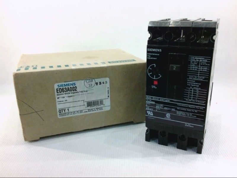 **NEW** Thomas and Betts TB250 2-Pole 50A Plug In Circuit Breaker